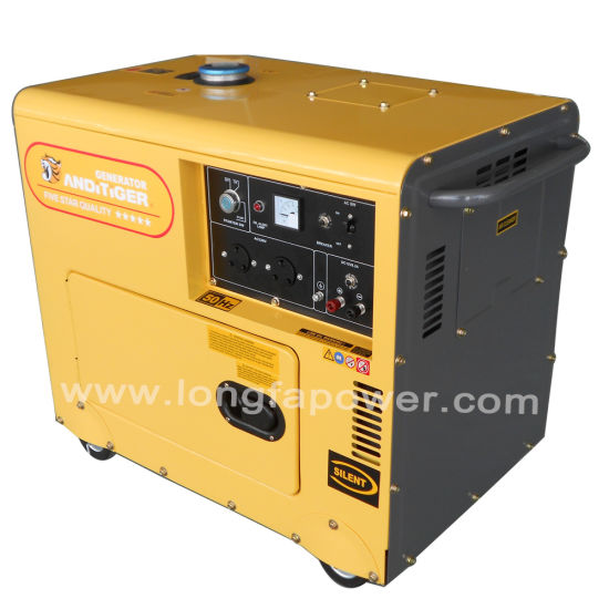 6kw/ 6kVA Silent Diesel Generator with ATS and Digital Display pictures & photos