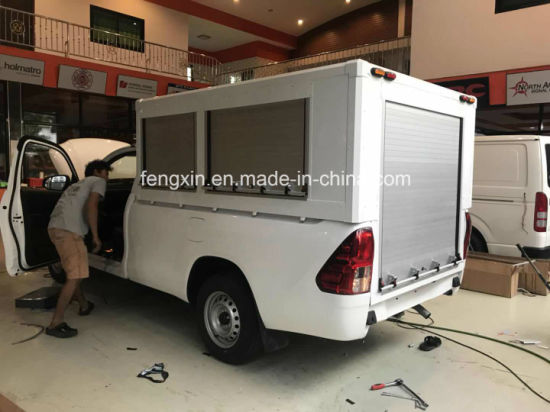 Special Vehicles Rescue Truck Aluminum Roll up Doors Roller Shutter