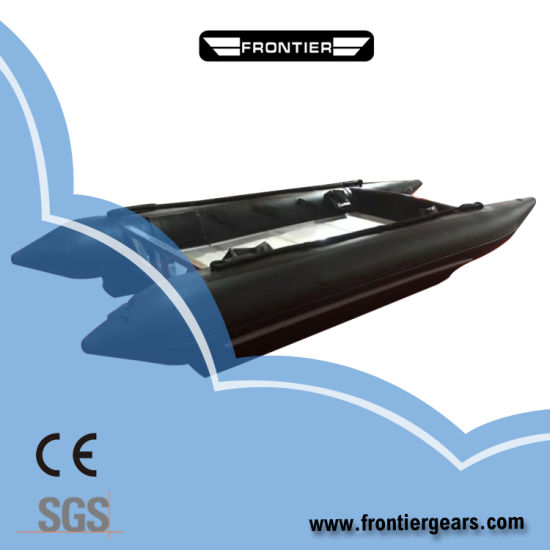 High Quality 3.0-4.3m Inflatable High Speed Boats Catamaran Inflatable Boats