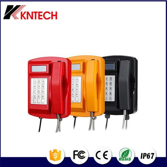 VoIP LCD Weatherproof Emergency Telephone with Keypad Koontech Knsp-18L