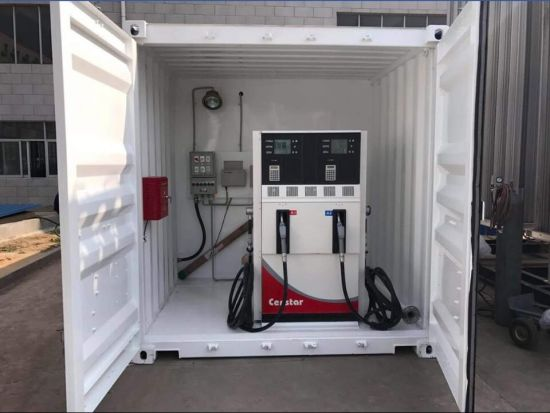 20FT and 40FT Fuel Container Tank Mobile Petrol Station