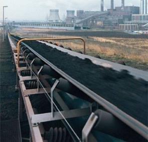 High-Tech Long-Distance Belt Conveyor Curved Materials Handling Equipment