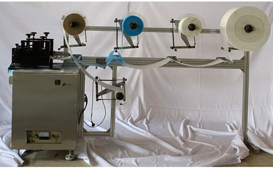 Fully Automatic N95 KN95 Face Mask Making Machine for Folding Medical Surgical