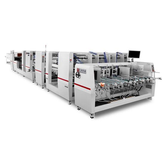 Automatic Folder Gluer Machine Small Folding Gluing Machine