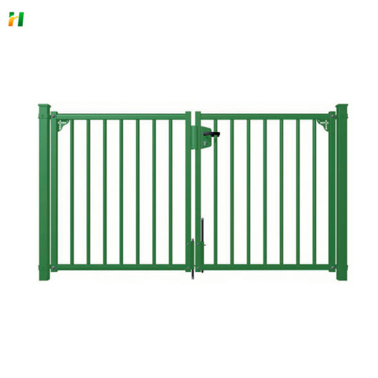 Cheap Price Manufacturer Garden Gate Mesh Metal Green Garden Gate