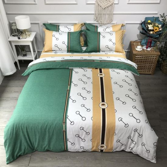 Home Textile Cheap Price Bedding Cotton Fabric Comfortable for 4PCS King Bed