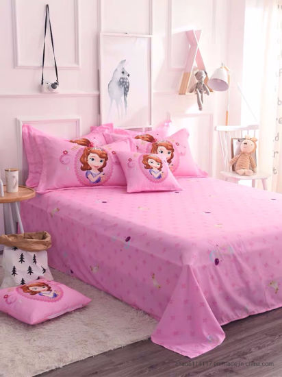100% Polyester Fabric Bedsheet Wholesale, Textiles, Paint Printing, Household Textile Export Nigeria