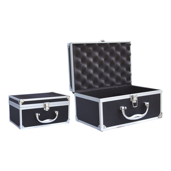 Aluminum Alloy Tool Case Portable Cipher Box Tool Safe File Box