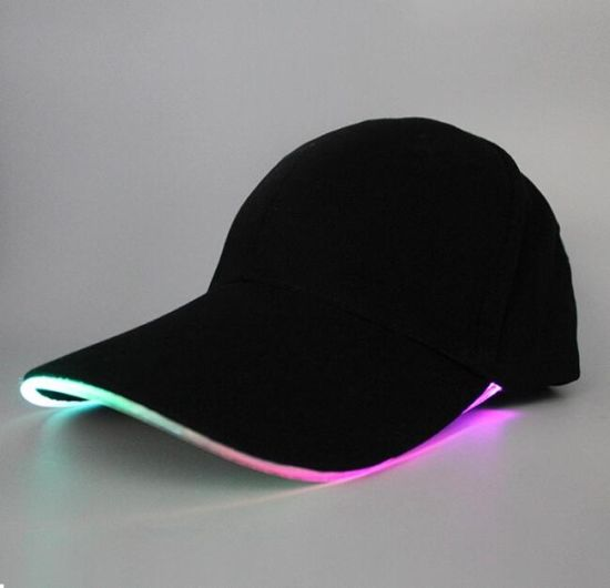 Safety Sport Custom Hip Hop Cap LED Light Baseball Cap pictures & photos