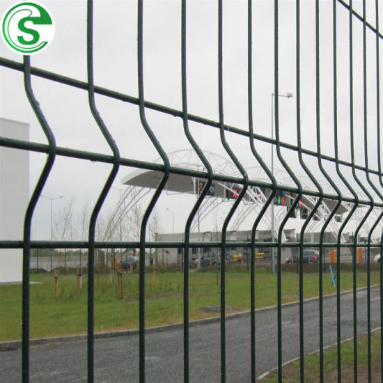 Hot Popular Garden Decoration 3D Curved Fence