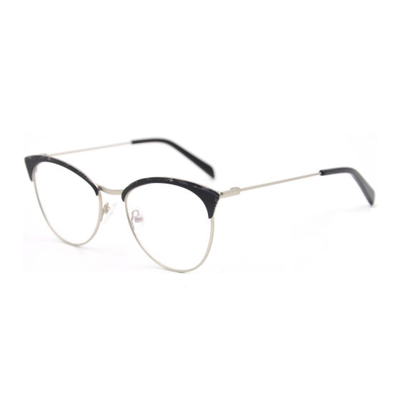 c970b7163 Fashion Trendy Cat Eye Metal Spectacle Frame China Manufacturers ...