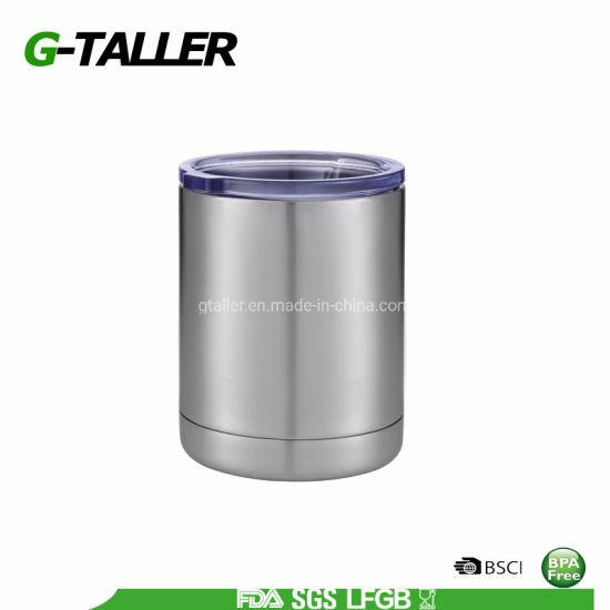 10 Oz Stainless Can Metal Jar Reusable Coffee Tumbler