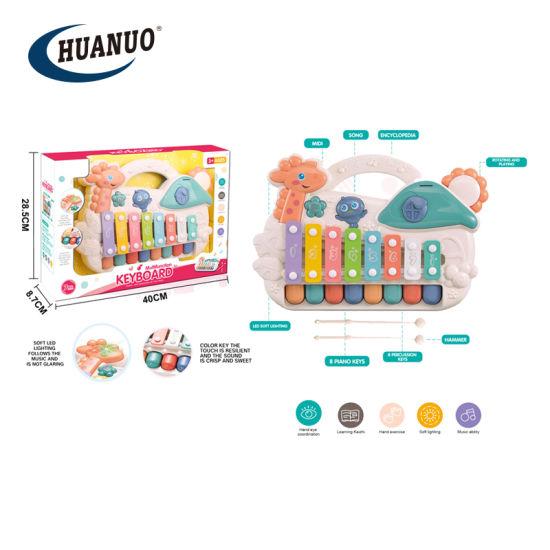 New Multifunctional Musical Baby Toys Giraffe Piano Key Story Toys