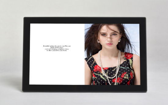 21.5inch LCD Touch Screen Ad Player pictures & photos