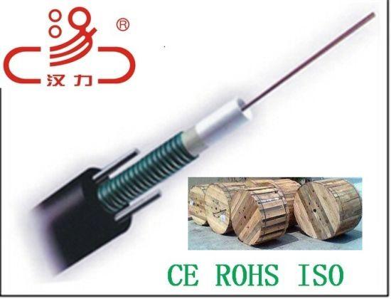 2 / 4 / 6 / 8 / 12 Core Single Mode Outdoor GYXTW Fiber Optical Cable 1km Price