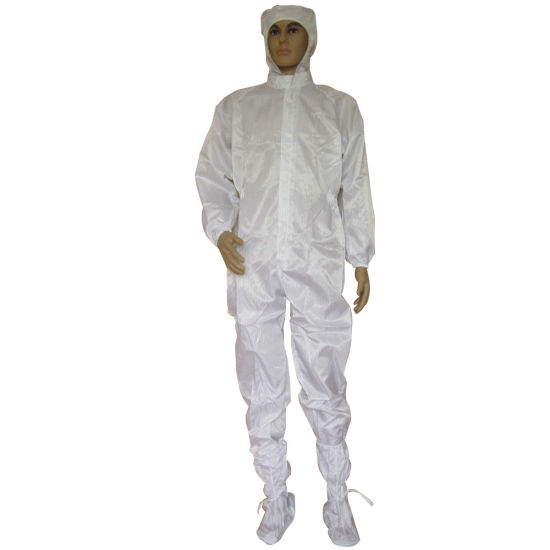 Manufacturer ESD Antistatic Clothes Cleanroom Workwear Coverall Garment