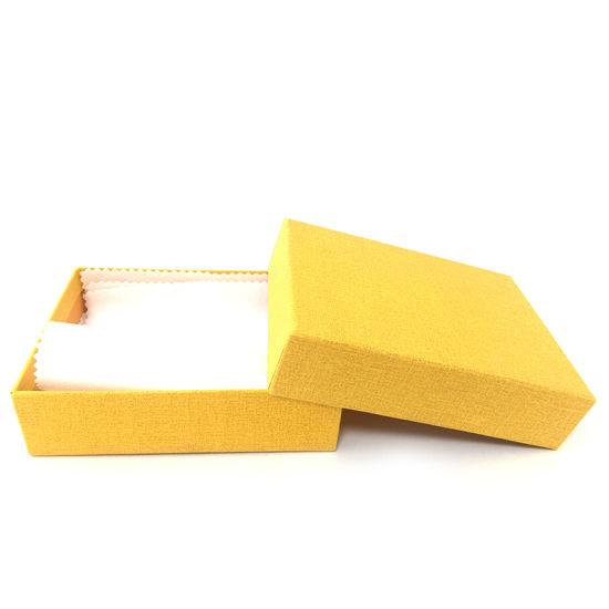 Custom Simple Paper Jewelry Display Packaging Gift Box