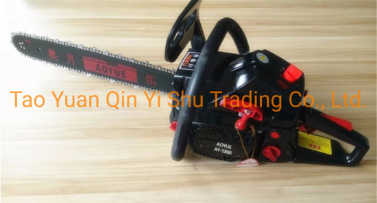 Gasoline Chain Saw Ay5806 52cc Sawmill for Garden Tools