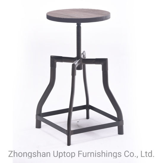 Excellent China Tall American Coffee Shop Adjustable Casual Round Evergreenethics Interior Chair Design Evergreenethicsorg