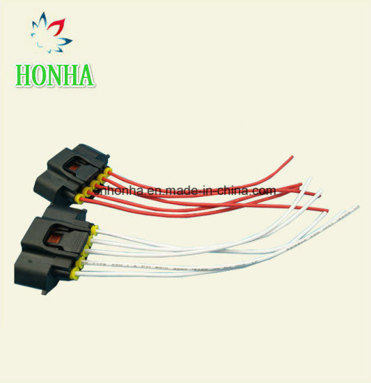 China 5 Pin Oxygen Sensor Connector Wiring Harness ... on
