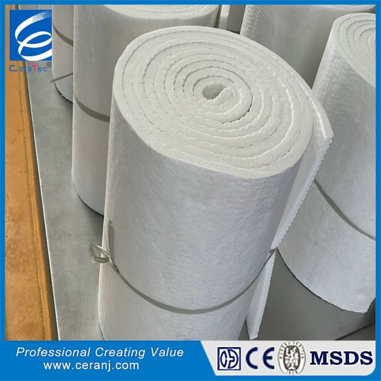 High Temperature Luyang Wool Ceramic Fiber Blanket pictures & photos