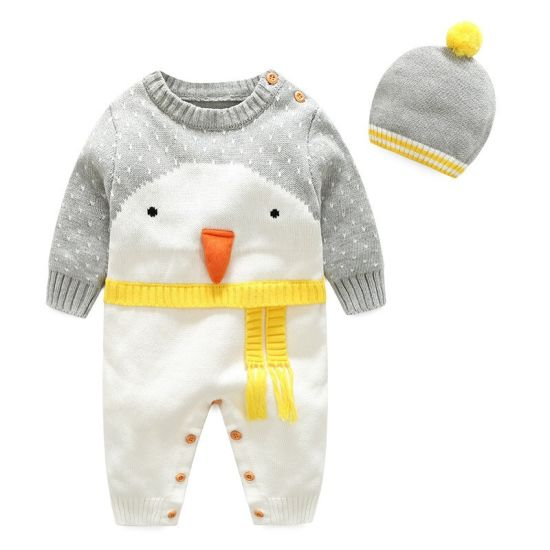 Baby Clothing Christmas Series Knitted Jumpsuit Baby Knitwear