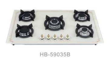 New Model 5 Burner Gas Hob/Gas Stove/Gas Cooker White Colour