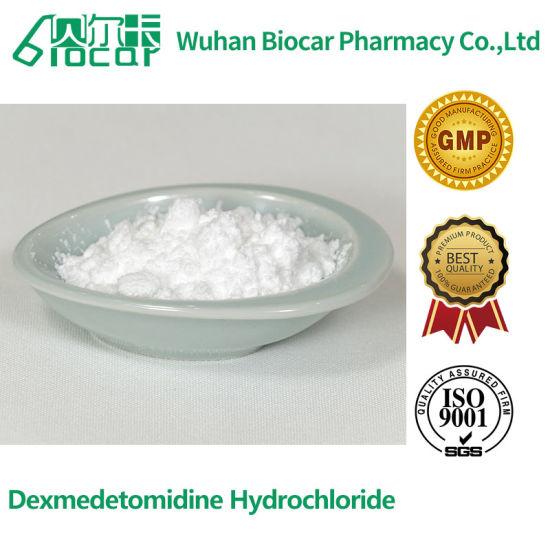 Hot Sale Anesthesiologists Dexmedetomidine Hydrochloride Pharmaceutical Raw Powder