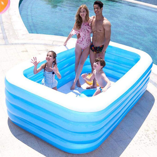 China Hot Sale Inflatable Swimming Pool Children Ocean Pool Baby Bath Swim Tubs Plus Size Large Pvc Kids Swimming Pools China Swimming Pool And Inflatable Square Swimming Pool Price