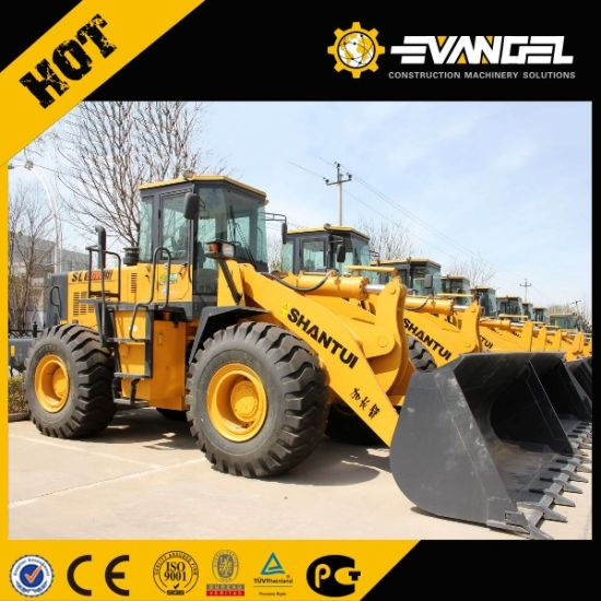 Shantui High Quality Four Wheel Drive New Style Wheel Loader pictures & photos