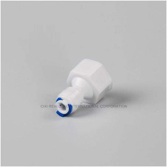"""RO Quick Fitting Manufacturer Straight 1/2"""" Female X 1/4"""" Tube RO Pipe Quick Fitting Connect for RO System Water Filter Purifier"""