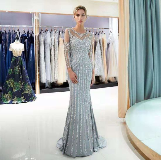New Design Sexy Prom Dress Wedding Gown Evening Dress for Party