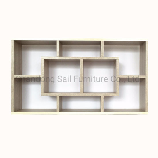 Small Size Wall Mounted Display Cabinet for Living Room