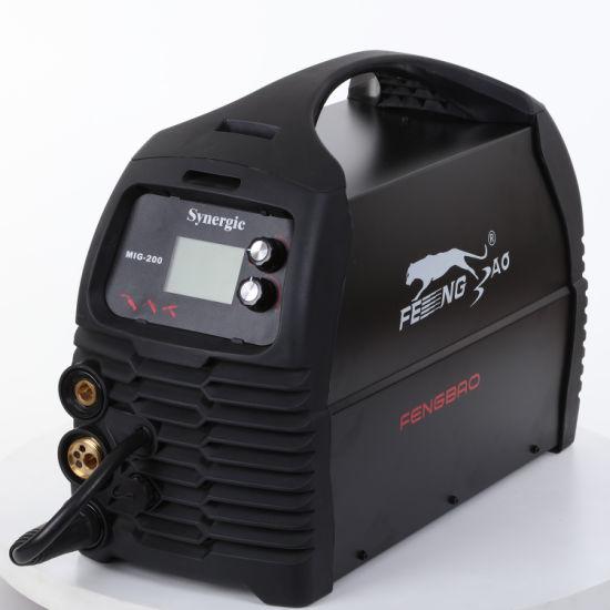 Multi-Process MIG/TIG/MMA TIG Arc Welder Synergic Welding Machine