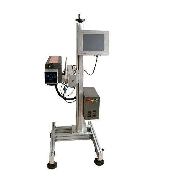 10W/30W/50W Optional High Speed Laser Machine Online Laser Marking Machine/ CO2 Touch Screen Laser Machine for PE/PVC/Wood/Bamboo/Tobacco/Pharmacy/Food