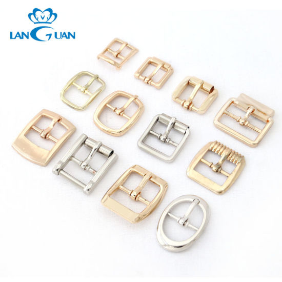 Professional Small Metal Pin Buckle for Shoes/Bag/Garment