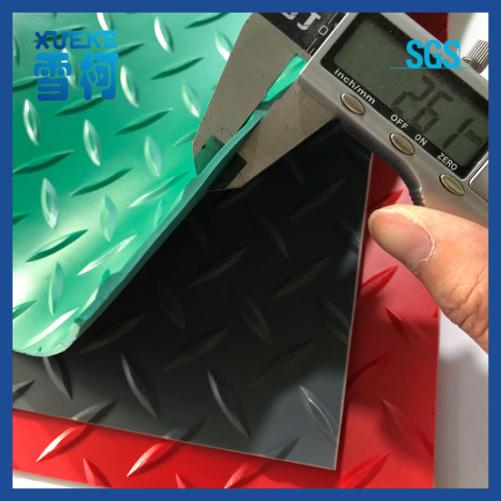 Wholesale Plastic Mat Embossed Anti-Slip PVC Roll Vinyl Flooring