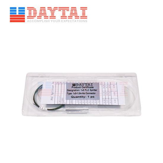 1X2/1X4/1X8/1X16/1X32 FTTH Bare Fiber PLC Splitter