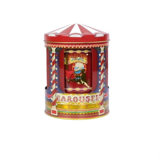 Factory Direct Price Music Carousel Tin Box for Children′s Day pictures & photos