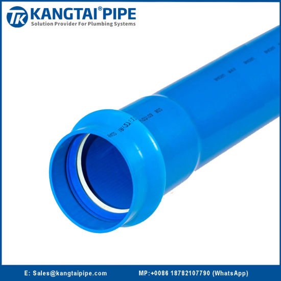 PVC-O Water Convery Pipe with Very Stable Size During Production Process Od630mm