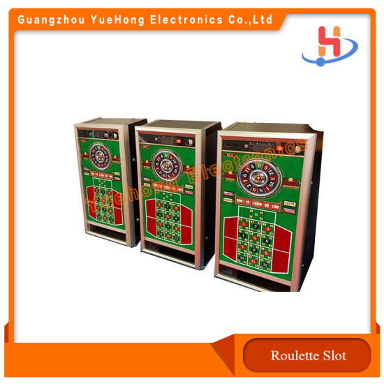 Good Price Redemption Lucky Number Roulette Slot Game Machine