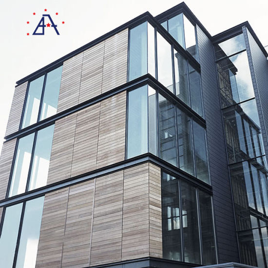 New Design 20 Years Guarantee Aluminum Alloy Curtain Wall pictures & photos