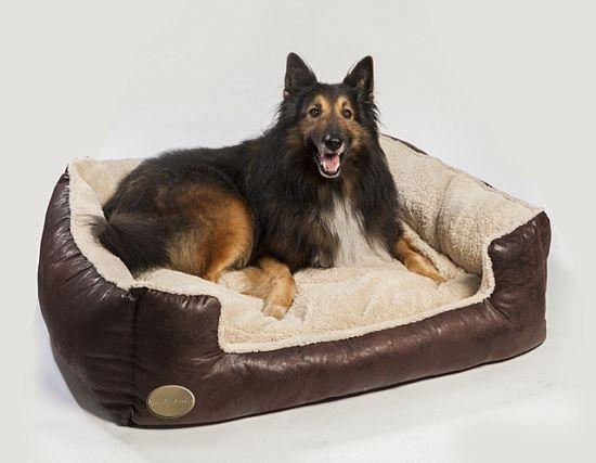Luxury Pet Beds Dog Baskets Rectangular Cushions