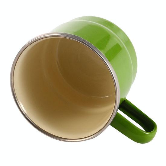 High Quality Blue Color Plain Metal Enamel Coffee Mug