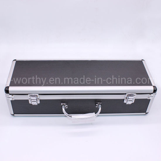 Small Simple Case Type Aluminum Tool Box and Hand Tool Set