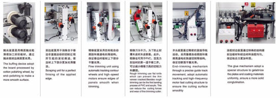 Automatic / Semi Automatic / Manual Operation Wood Edge Bonding Machine with Ce pictures & photos