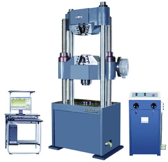 Manual control Hydraulic Universal Testing Machine TIME WEW-600C