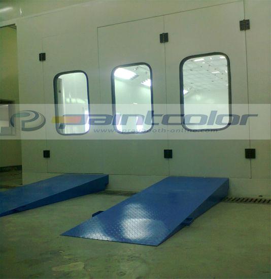 China 7 5 3m Car Paint Oven China Painting Room Garage Equipment