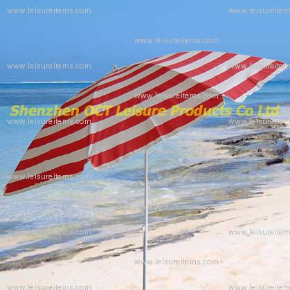 Popular Beach Umbrella / Stripe Design (OCT-BUT12)