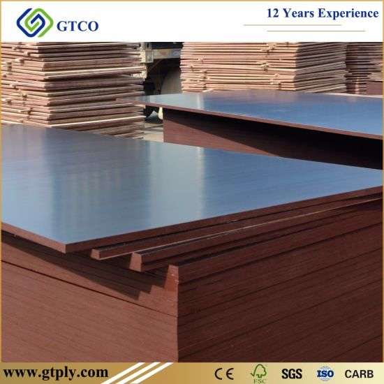 18mm Combi Core Brown Film Faced Marine Plywood